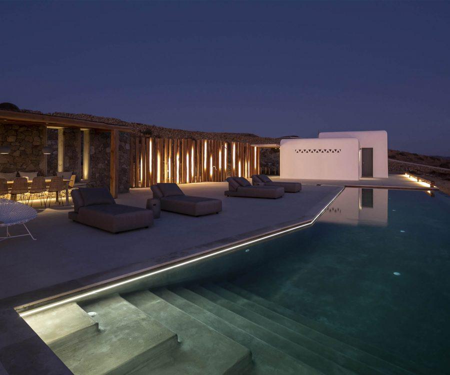 LED-Streifen Poolbeleuchtung Mykonos
